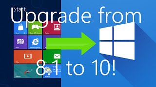 Upgrade Windows 8.1 to Windows 10 RTM without Losing Data! | Step by Step
