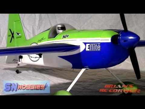 SN Hobbies - E-Flite Edge 540QQ 280: Review and Flight Testing