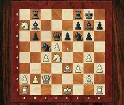 Chess World.net: Dr. Harald Tarnowiecki vs Gert Jan Timmerman  - King's Indian Defense (1999)