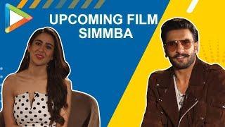 "Ranveer Singh: ""KISMAT ho to SARA ALI KHAN jaisi""| SIMMBA | Talking Films"