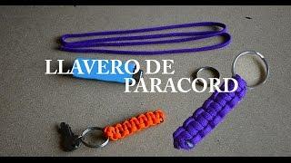 Como hacer un Llavero de Paracord (cuerda de paracaídas) - Tutorial