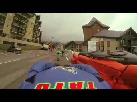 Peyragudes 2014 IDF World Cup: Warmup Run