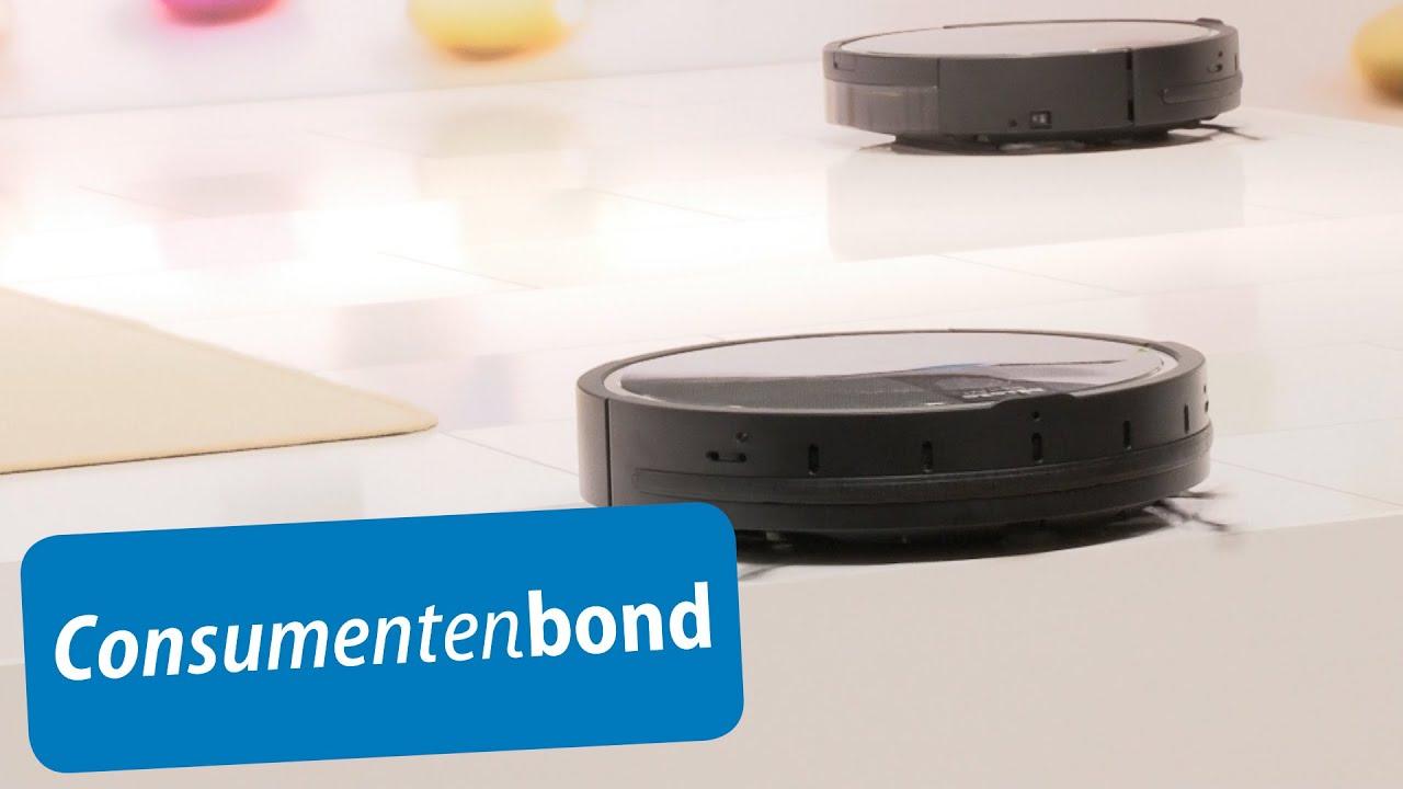 Robotstofzuigers - IFA 2014 (Consumentenbond) - YouTube