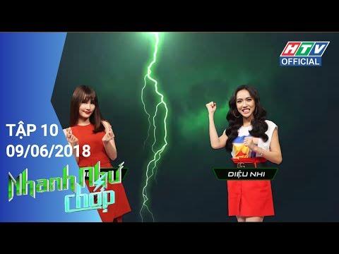 HTV NHANH NHƯ CHỚP   Diệu Nhi xuất thần - Elly Trần xuất sắc   NNC #10 FULL   9/6/2018