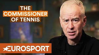"McEnroe: ""Roger Federer Has Graced Us With His Presence"" 