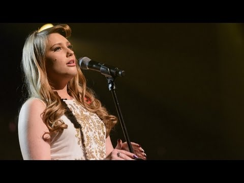 Ella Henderson sings Katy Perry's Firework - Live Week 5 - The X Factor UK 2012