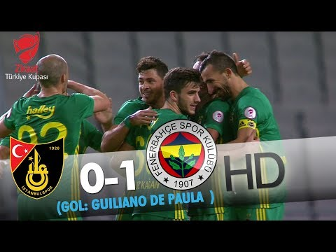İstanbulspor: 0 - Fenerbahçe: 1 | Gol: Giuliano De Paula