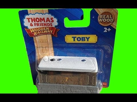 New 2013 Thomas The Tank Engine Wooden Railway - Toby The Steam Tram Train by Fisher Price Mattel