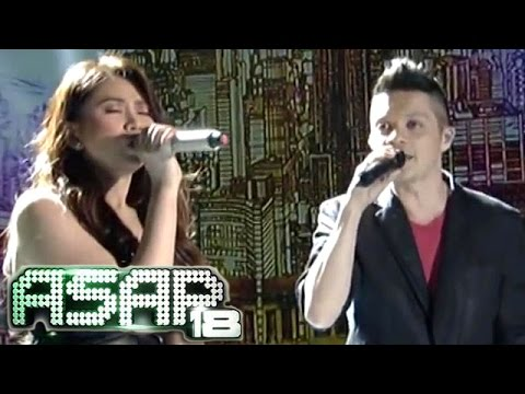 Sarah & Bamboo 'Just Give Me A Reason' duet on ASAP