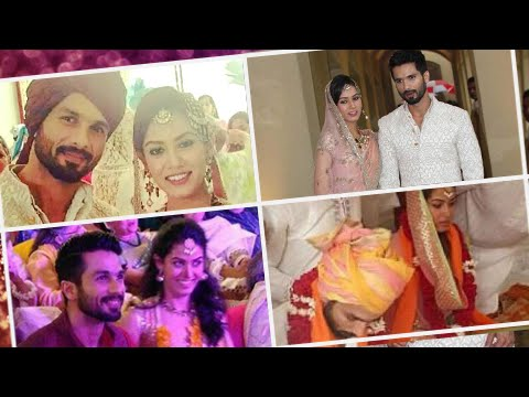 Wedding Pics: Shahid Kapoor & Mira Rajput Married!