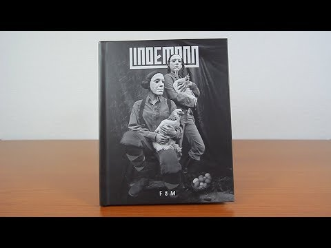 Download Lindemann - FRAU & MANN - Special Hardcover Book Edition - Unboxing Mp4 baru