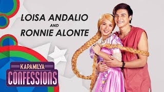 Kapamilya Confessions with Ronnie Alonte and Loisa Andalio