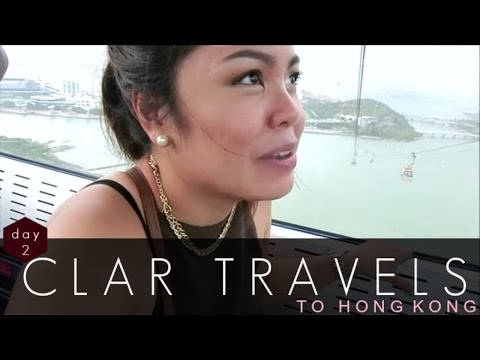 CLAR TRAVELS: Holding On for Dear Life! - clar831 HONG KONG DAY 2 (June 24)