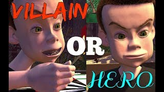 TOY STORY / PIXAR FAN THEORY - Toy Story's Sid: Hero or Villain?!?!