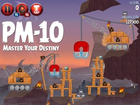 Angry Birds Star Wars 2 Level PM-10 Master Your Destiny 3 Star Walkthrough