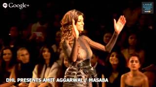 DHL presents Opening Show with Masaba Gupta & Amit Aggarwal - Lakme Fashion Week Winter/Festive 2014
