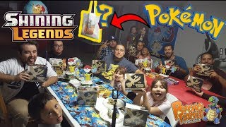 Opening over 100 Shining Legends Pokemon Booster Packs!! Launch Party & Elite Trainer Box Battle!!