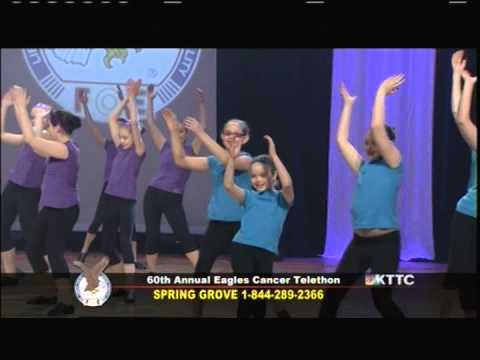 Allegro School of Dance - Happy (Pharell Williams) - Eagles Cancer Telethon 2014