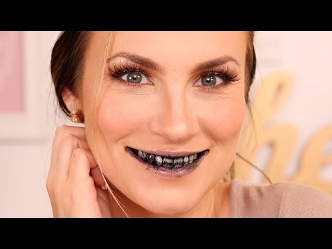 Beauty Hack: Activated Charcoal Teeth Whitening   Before & After Natural At-Home DIY