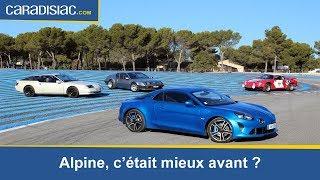 La nouvelle Alpine A110 jugée par des propriétaires d'anciennes Alpine