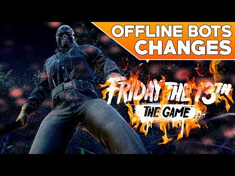Offline Bots Improvements   No More Stupid AI   Friday the 13th: The Game