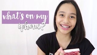 What's On My iPhone + How I Edit My Instagram Pictures! | ThatsBella