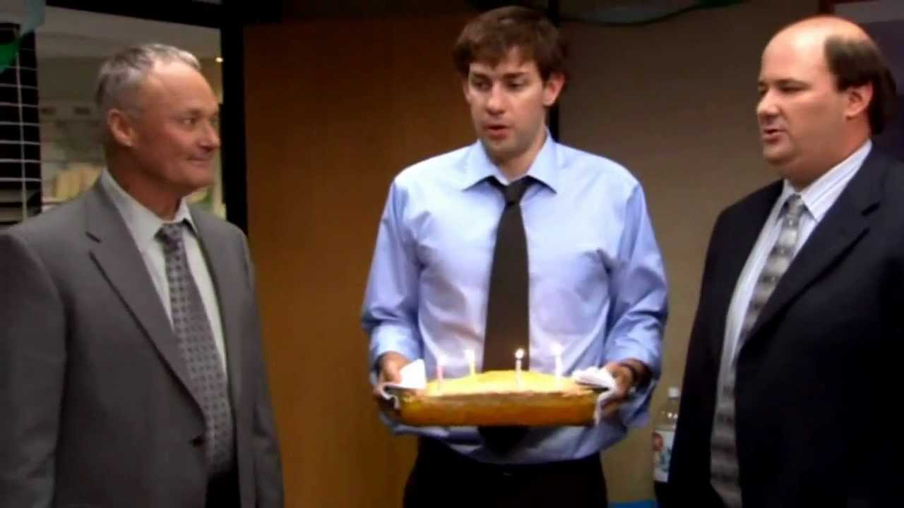 Happy Birthday The Office Michael Scott The Office Happy Birthday
