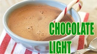 ✔ CHOCOLATE CALIENTE LIGHT EN 2 MINUTOS ✔ | Recetas Light