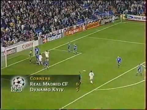 Реал (Мадрид) - Динамо (Киев) 2:2. ЛЧ - 1999/00 (полный матч).