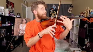 GIT UP SONG ON VIOLIN! (OPENING!)
