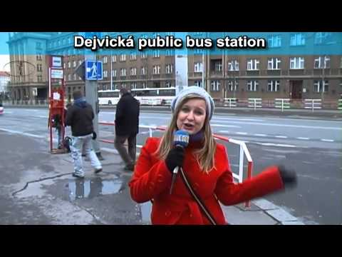 How to get to the airport from the center of Prague, transport video guide part 5
