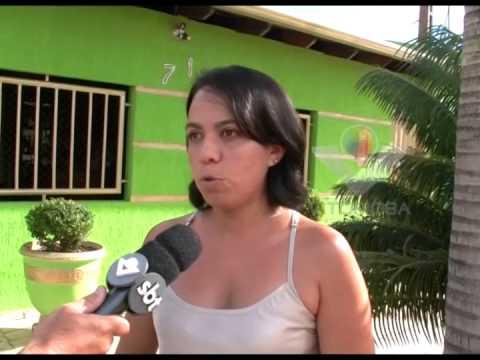 Moradores do Bairro Alan Kardec em Araguari sofrem com o serviço mal feito da SAE