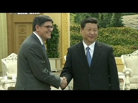 Amidst Tension, China's Xi Jinping Meets US Treasury Secretary Jack Lew