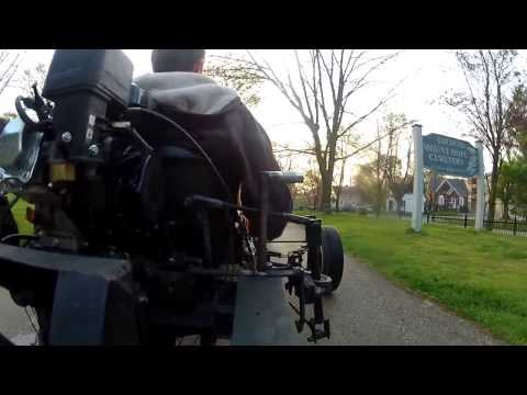 Homemade 3 Wheel Go-Kart (Rear View of Shifter)