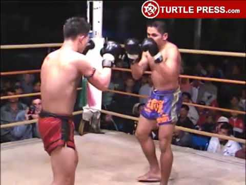 Muay Thai Fight Lampun-1 1999 Round 5