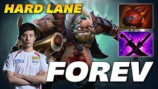 Forev Pudge | HARD LANE | Dota 2 Pro Gameplay