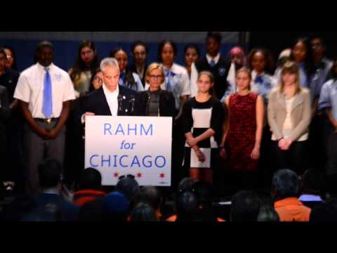 Rahm Emanuel makes his re-election campaign official