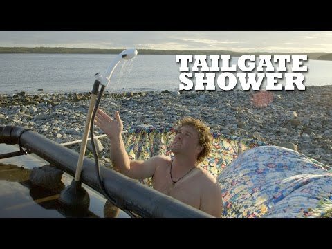The Ultimate Outdoor Car-Shower
