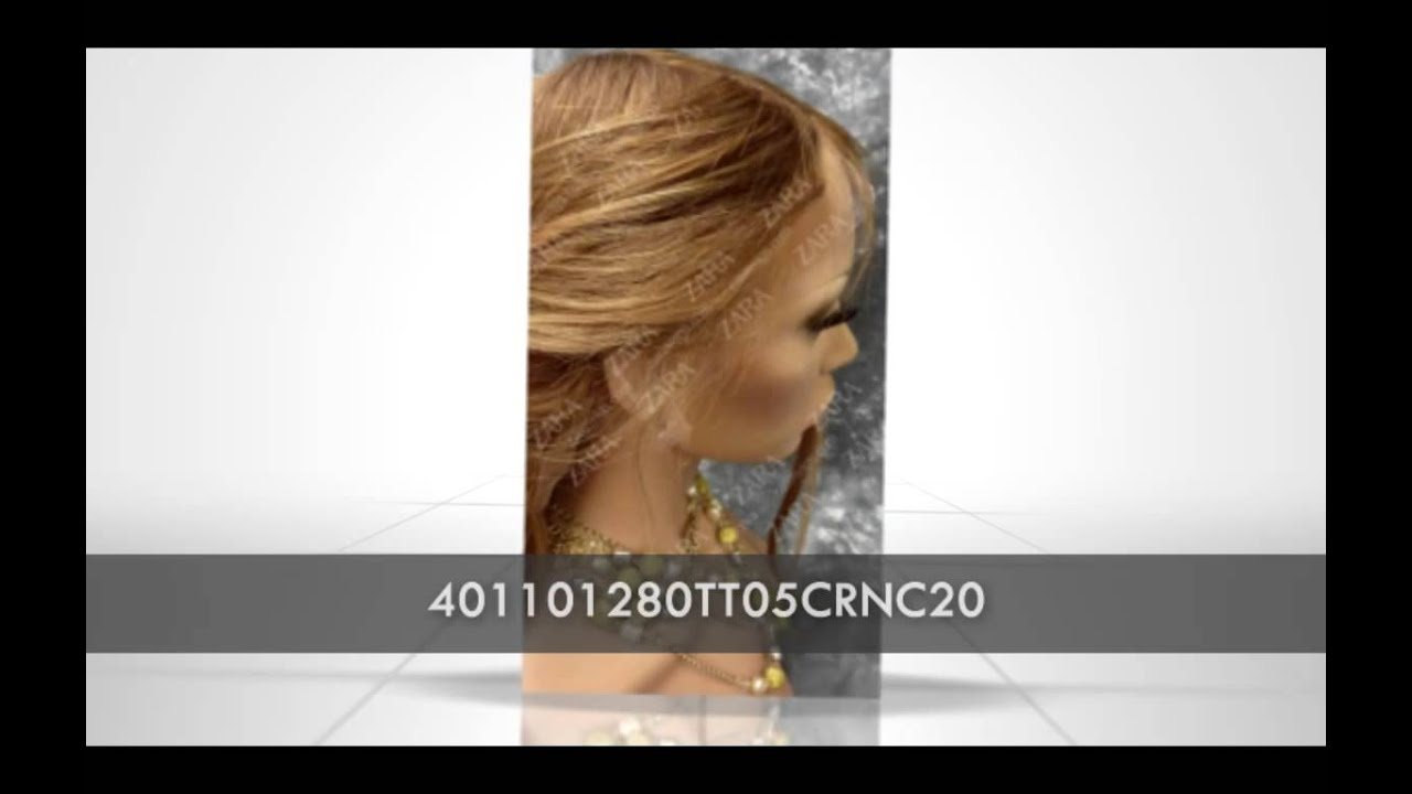 Zara Full Lace Human Hair Wigs 36