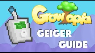 How to use geiger counter | GROWTOPIA