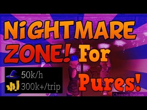 Oldschool RuneScape – NightmareZone Solo Magic Guide for Pures