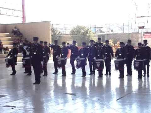 BANDA DE GUERRA HALCONES DORADOS TORREON,DIMAJUVE, PART.2 FEB`11