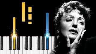 Download Lagu La Vie en Rose - Piano Tutorial Gratis STAFABAND