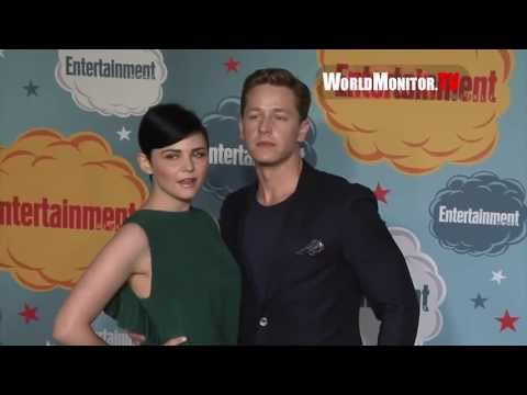 'Once Upon A Time' Ginnifer Goodwin, Josh Dallas arrive at EW's Comic Con party 2013