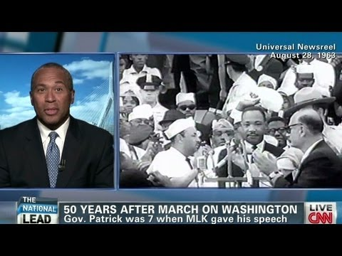 Gov. Deval Patrick on race and progress