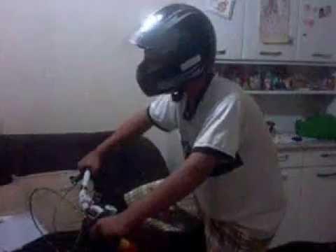 Bicicleta Com Som de Moto Lafaiete Bicicleta Com Som