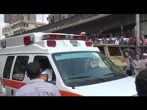 Deadly bomb blast near Egypt foreign ministry