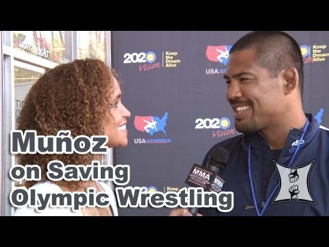 UFCs Mark Munoz on Why Olympic Wrestling Needs To Stay