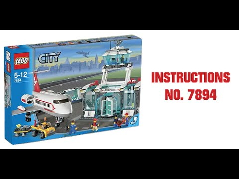 Instructions For Lego City Airport | 14 LEGO 60047 CITY POLICE ...