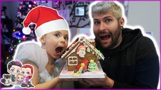 Gingerbread House Challenge! VLOGMAS 2018 Day 1
